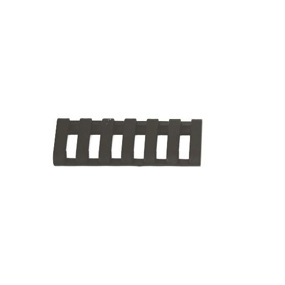 ERGO 7-Slot Rail Cover 3 pack - Black